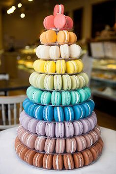 10 Tier Tour de Macaron from Belle Pastry, Redmond, WA