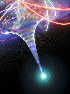 y la conciencia se vuelve materia, el principio del tiempo. La materia se transforma. La impermanencia. La rueda que gira, en acción y reacción, el karma. La dualidad se instala, el vértigo de la conciencia de Ser. Apego y aversión moviendo al cuerpo, para tapar de placer el abismo del Ser. Lanzados al vacío, liberados, la rueda se vuelve circulo, en la eternidad y el retorno.