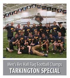 2013 Men's Res Hall Flag Football Champs: Tarkington Special #puimsports