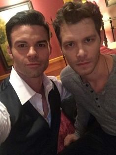 #TO #TVD The Originals,The Vampire Diaries Daniel Gillies(Elijah) & Joseph Morgan(Klaus)