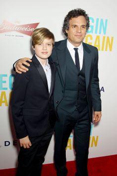 Keen Ruffalo and Mark Ruffalo
