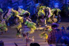 Cultura indígena através da dança Festival de Parintins