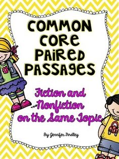Paired Passages for Common Core. Grades 4 and 5.