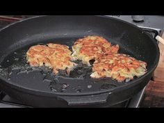Placki cebulowo ziemniaczane/ Oddaszfartucha - YouTube Griddle Pan, Vegetables, Cooking, Food, Kitchen, Grill Pan, Essen, Vegetable Recipes, Meals