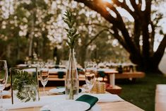 Grace and Luan's simply beautiful outdoor reception at Mina's. Simply Beautiful, Real Weddings, Reception, Table Decorations, Photography, Wedding Ideas, Outdoor, Home Decor, Art