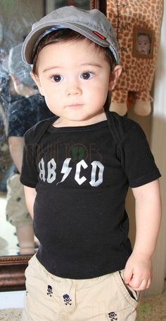 Funny Onesie or Shirt ABCD by MyLiLTOES
