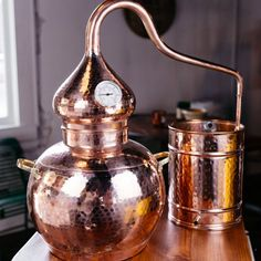 product image for Handmade Copper Whiskey Still - 5 Gallon