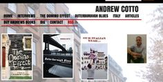 Andrew Cotto - Author - A work in progress :) Domino Effect, Writer, Blues, Interview, Author, Sign Writer, Writers