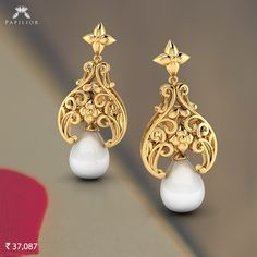 With pearls you cannot go wrong, they are never out of style.    #papilior #papiliorearring #papiliorearrings