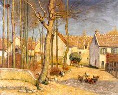 Leo, Le Site, European Paintings, Post Impressionism, Gauche, Painters, Watercolour, Impressionist, Red Paint