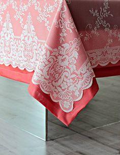 Dantel Tafta 2'li Masa Örtüsü Seti | Masa Örtüsü | Moda Fabrik