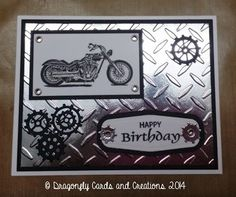 Dragonfly Cards and Creations: Boy Cards!