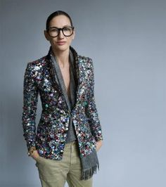 jenna lyons, j. crew, style and substance, image