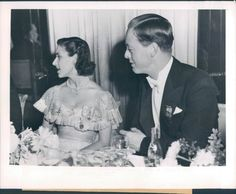 Before his 1951 wedding, John Spencer-Churchill, Marquis of Blandford and Consuelo's grandson, was a frequent escort of Princess Margaret. Together shown here (1949) at a Halloween Ball. The Princess reportedly smoked a cigarette at this event -- it was the first time a female member of the Royal Family lite up publicy.