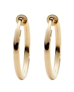 Stephan & Co. Clip-On Hoop Earrings - Watches & Jewelry | Stein Mart