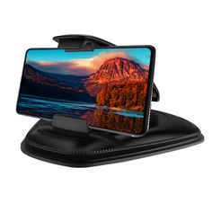 Samsung Galaxy S9+ - Compatible with iPhone 11//11 Pro//Xs//XS Max // 8//7 // 6 and More Google Pixel 3 XL Easy-Install Strong-Grip Magnetic Phone Mount Phone Holder