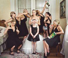 Team Braut Hochzeitsbilder