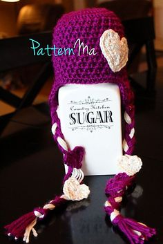 Ravelry: Cross My Heart hat pattern by Rebecca PatternMa