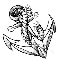 some tattoo sketches Anchor Tattoo Design, Anchor Tattoos, Heart Tattoo Designs, Anker Tattoo, Ancora Old School, Tattoo Sketches, Tattoo Drawings, Trendy Tattoos, Cool Tattoos