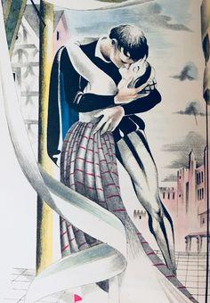 Romeo & Juliet by William Shakespeare book illustration