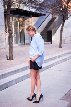 Dressy casual for Sunday downtown
