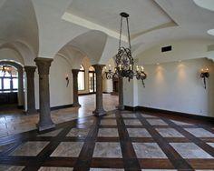 Basketweave Tile And Wood Floor Design Pictures Remodel