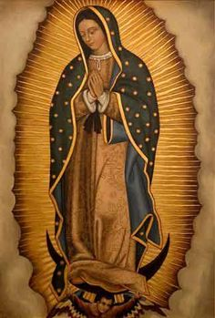 Our Lady of Guadalupe, sixteenth century - Google Search