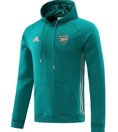 Arsenal 20/21 Hoodie Lake Blue Men Tracksuit Slim Fit (Sweatshirt) – zorrojersey
