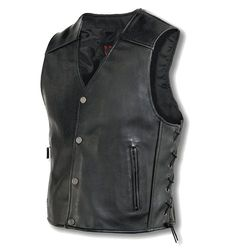 Milwaukee Motorcycle Clothing Company Mens Joker Vest (Black, X-Large)  http://suliaszone.com/milwaukee-motorcycle-clothing-company-mens-joker-vest-black-x-large/