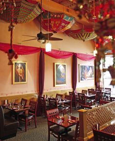 NS Studios designed the Interiors for my favorite Indian Restaurant, Cafe Spice