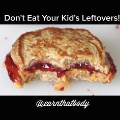 Save your calories! And don't get their germs! Make it a HARD RULE: I will not eat off my child's plate!