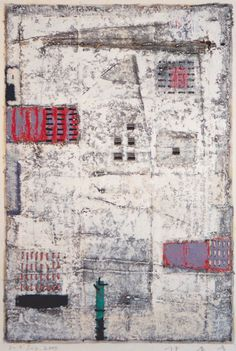 D-9.Jul.2000mixed media painting林孝彦 HAYASHI Takahiko 2000