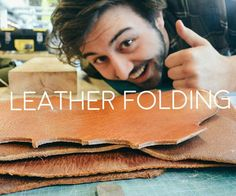 In this instructable we'll help you fold leather.We discoverd different techniques like grooving leather, clamping it and using a hot air gun.Go ahead and try them out.