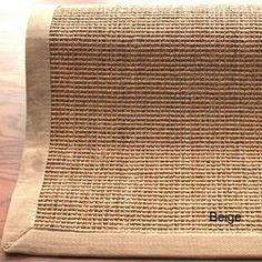 nuLOOM Handmade Alexa Eco Natural Fiber Cotton Border Sisal Rug (5' x 8') | Overstock.com Shopping - The Best Deals on 5x8 - 6x9 Rugs
