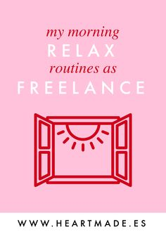 Try my relax routines and daily planning to have a happier entrepreneur life.
