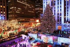 The best and brightest New York City holiday light displays. Wish we were there!