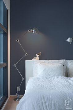 Makuuhuoneen seinien uusi sävy (via Bloglovin.com )