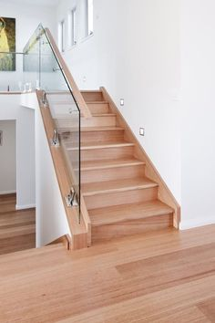 Warm, dense and resilient, Tasmanian Oak is the preferred hardwood for a wide range of applications. Timber Staircase, Wooden Stairs, Minimalist Home Interior, Minimalist Room, Minimalist Lifestyle, Living Room Hardwood Floors, Timber Flooring, Parquet Flooring, Flooring Ideas