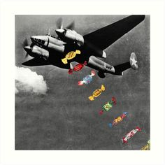Candy Bomber by eugenialoli