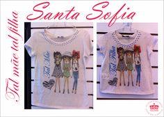 Moda Santa Sofia: Novidades Santa Sofia agora com Mãe e filha bebê