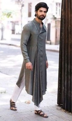 Freshen Up Your Wardrobe with a Touch of Exclusive Styles. Mens Indian Wear, Mens Ethnic Wear, Indian Men Fashion, Mens Fashion Wear, Men's Fashion, Indian Wedding Clothes For Men, Wedding Dress Men, Wedding Suits, Indian Groom Dress