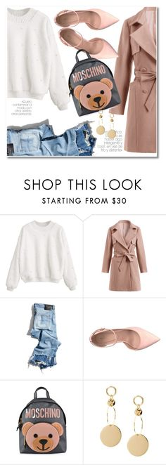 """""""37 Casual look"""" by laurafox27 ❤ liked on Polyvore featuring R13, ALDO and Moschino"""