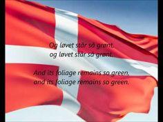 """Danish National Anthem - """"Der Er Et Yndigt Land"""" (DA/EN) our flag called Dannebrog felt down from the heaven under a war in Letland for many centuries ago. Danish Language, Polka Music, Danish Culture, Kingdom Of Denmark, Visit Denmark, Danish Royal Family, Danish Royals, Copenhagen Denmark, National Anthem"""