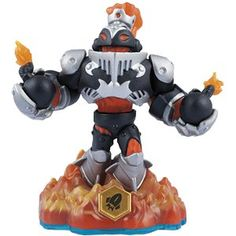 Skylanders Swap Force - Dark Blast Zone (Swappable-Rocket) [Fire] Character