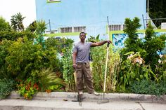 L.A.'s Ron Finley wants to make gardening gangsta #inspiration #growyourown