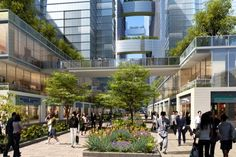 7 Cities That Are Starting To Go Car-Free I'm an urban planner and I approve this move. — Cities That Are Starting To Go Car-Free. Commercial Street, Centre Commercial, Landscape Architecture, Landscape Design, Architecture Design, Chengdu, Poket Park, Eco City, Sustainable City