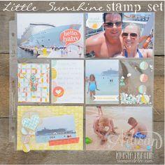 Stampin' Dolce: Leadership Artisan Samples 2015 - Little Sunshine Stamp Set