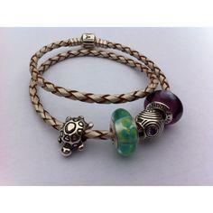 Pandora leather rope bracelet