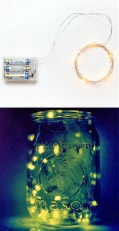 Fireflies in a Mason Jar