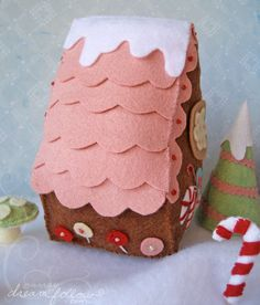 """""""Gingerbetty"""" Houses completed"""